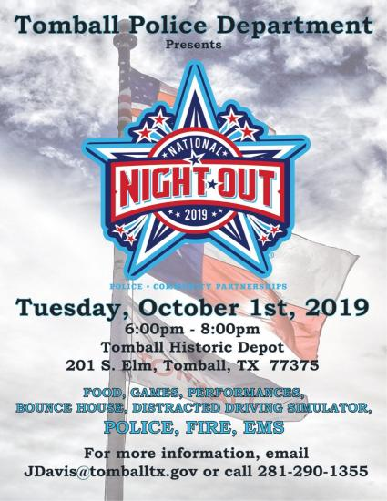 Tomball Police National Night Out