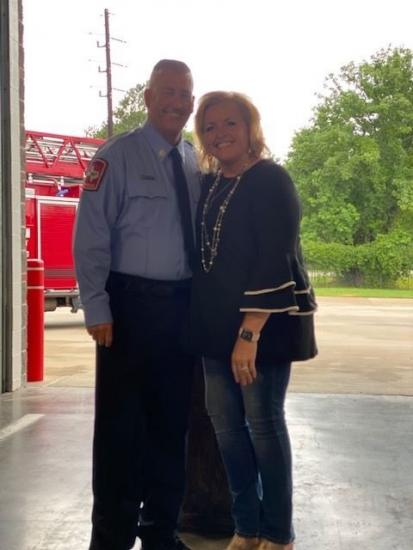 Tomball Fire Department Pinning Ceremony
