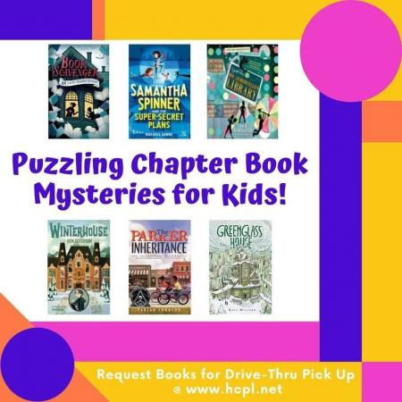 Puzzling Chapter Books For Kids
