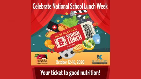 National School Lunch Week - October 12-16, 2020