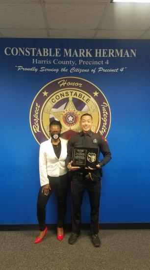 Constable Deputy Named Officer Of The Year