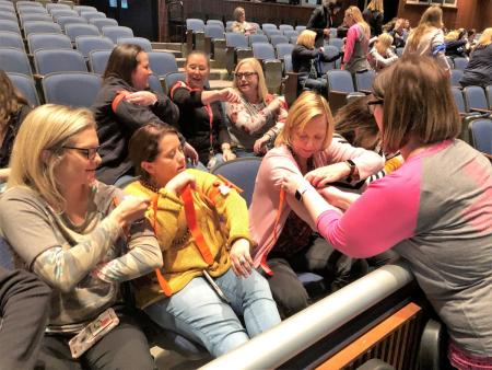 CCEMS Trains Tomball ISD Staff To Use Tourniquets