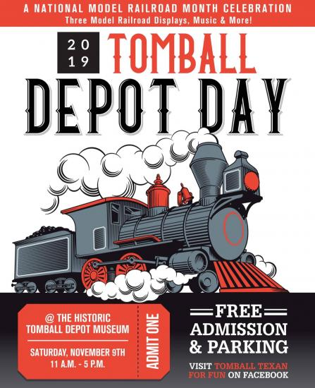 Tomball Depot Day