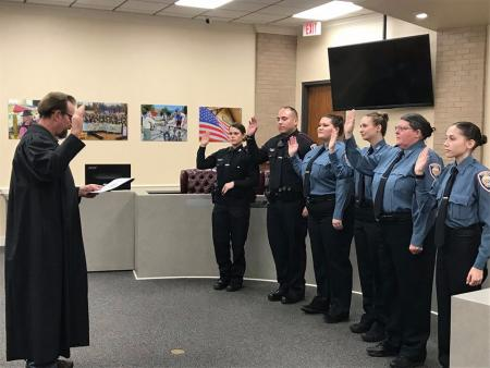 New Faces At Tomball PD