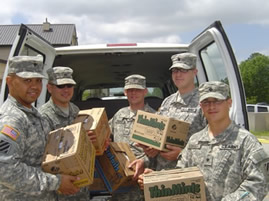 Girl Scouts Send Soldiers 5,000th Box of Cookies