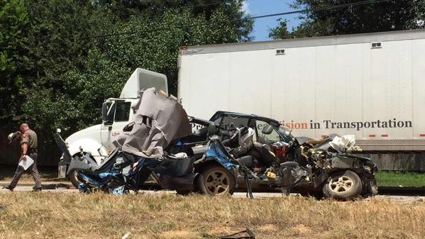Collision with Parked 18-Wheeler Takes Infant's Life
