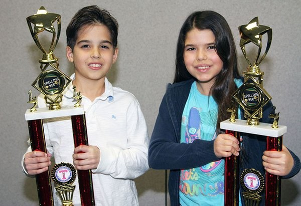 TISD Spelling Bee Winners